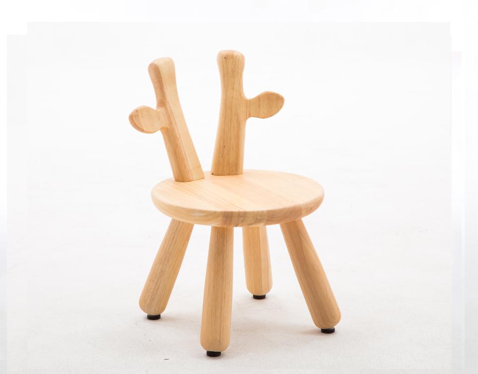 Dětská dřevěná židlička sob
