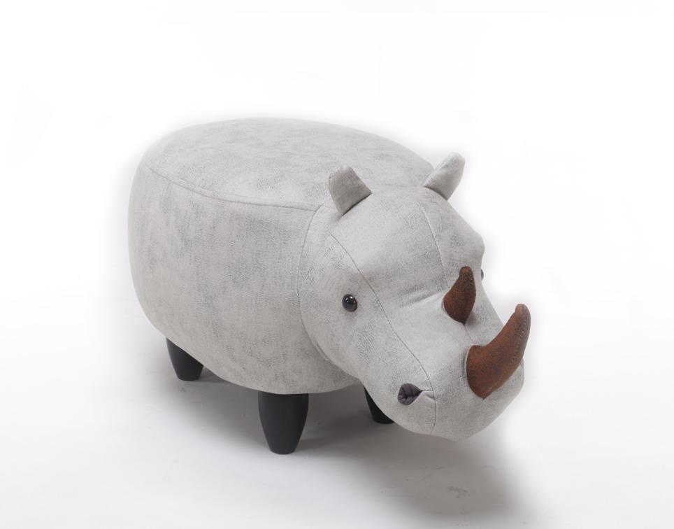 Dětský taburet - stolička-židlička Nosorožec