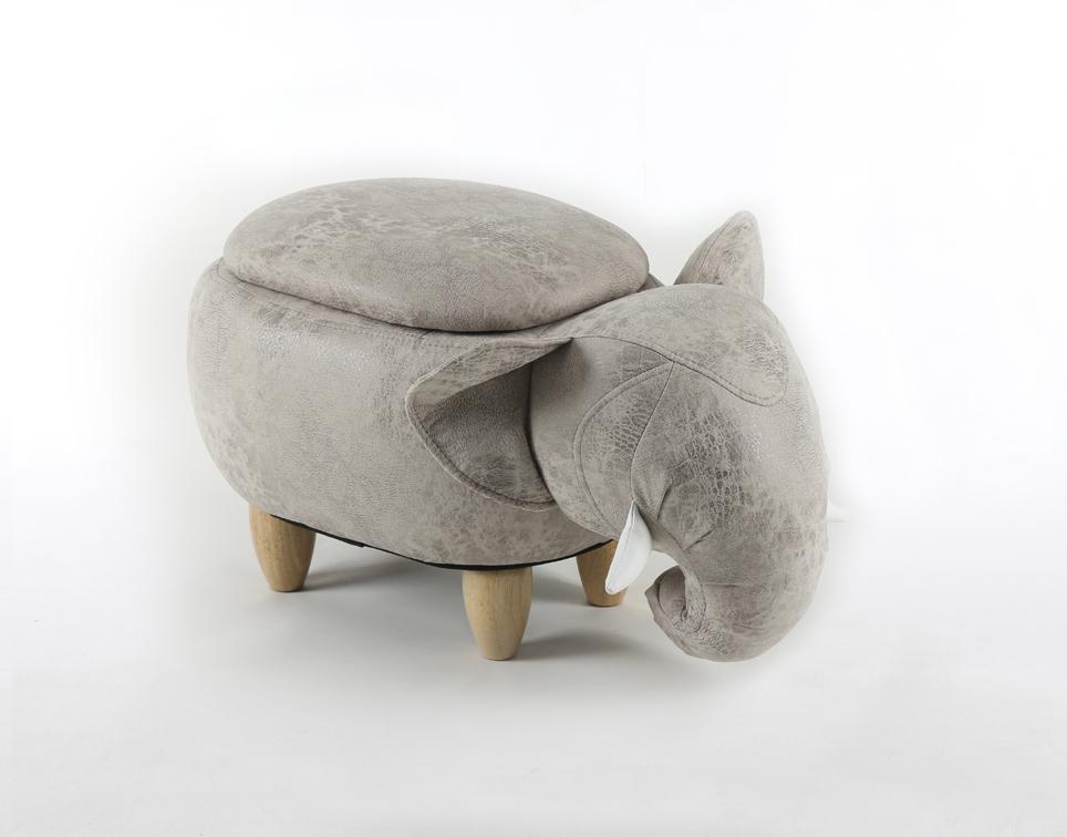 Dětský taburet - stolička-židlička Slon