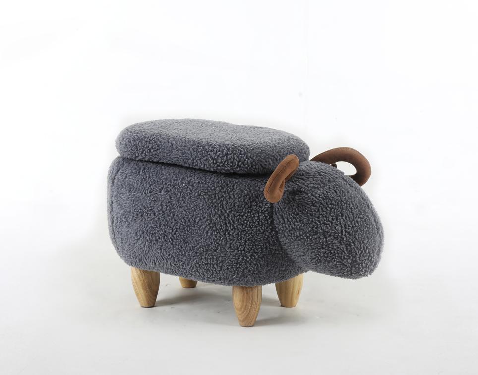 Dětský taburet - stolička-židlička Beránek