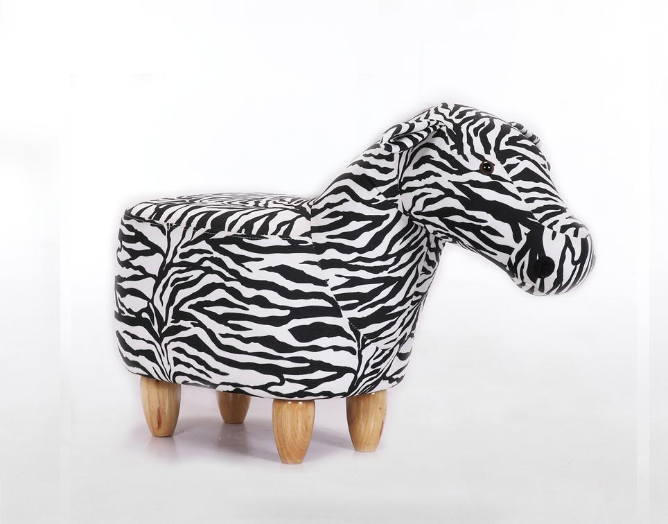 Dětský taburet - stolička-židlička Zebra