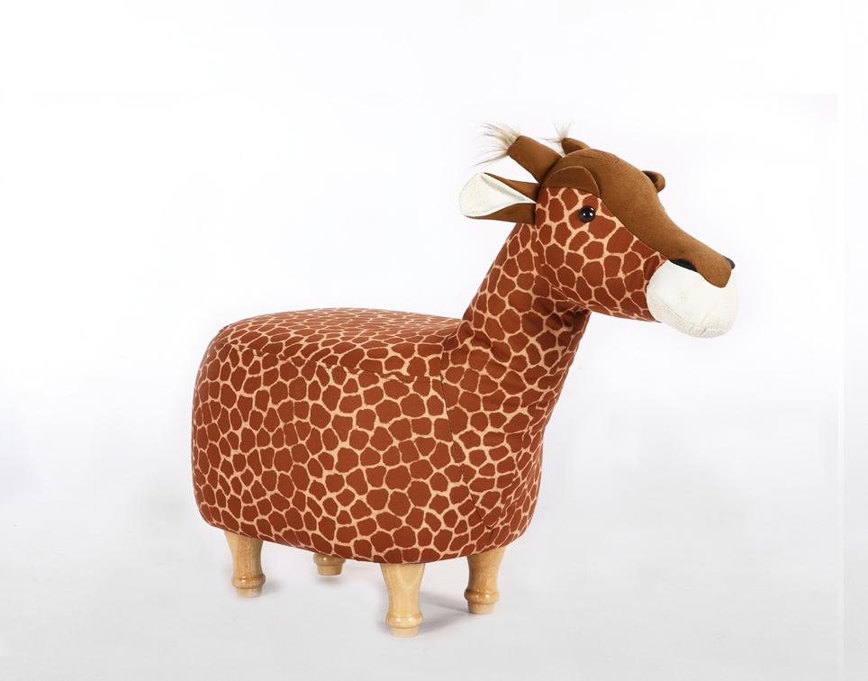 Dětský taburet - stolička-židlička Žirafa